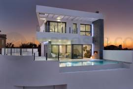 new-build-villa-rojales-facade-night-on2106